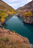 Kawarau Gorge Jetboating and Gold Panning, New Zealand Stock Photography