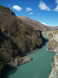 Kawarau river Royalty Free Stock Image