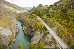 Kawarau River - New Zealand Royalty Free Stock Photo