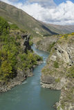 Kawarau River. New Zealand Royalty Free Stock Photo