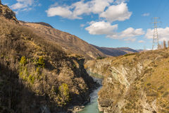 Kawarau river Royalty Free Stock Photo