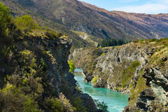 Kawarau river Stock Photo