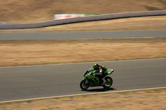 Kawasaki AMA superbike showdow Royalty Free Stock Images