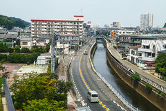 Kawasaki city view Royalty Free Stock Photos