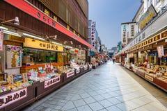 Kawasaki-daishi Shopping Arcade Royalty Free Stock Photo
