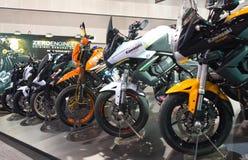 Kawasaki Motorcycles. Royalty Free Stock Photo