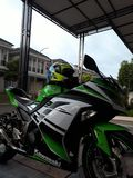 Kawasaki Ninja 250 FI zdjęcia royalty free