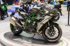 Kawasaki Ninja H2 2015 motocykl Fotografia Stock