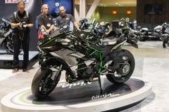 Kawasaki Ninja H2 2015 motorcycle Royalty Free Stock Photography