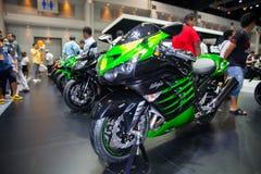 KAWASAKI Ninja ZX Royalty-vrije Stock Foto's