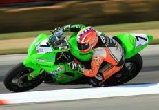 Kawasaki racing stock photo