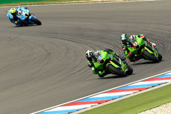 Kawasaki Racing Team royalty free stock photography