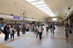 Kawasaki Station Stockfoto