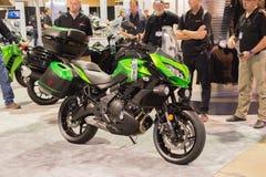 Kawasaki Versys 650 ABS motorfiets Stock Afbeeldingen