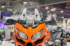 Kawasaki Versys 1000 LT motorcycle Royalty Free Stock Photo