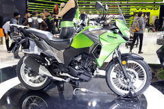 Kawasaki versys world premiere 2016 Royalty Free Stock Image