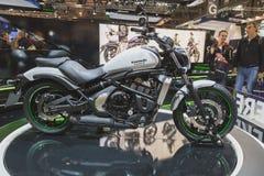Kawasaki Vulcan S on display at EICMA 2014 in Milan, Italy Stock Photos