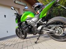 Kawasaki z750x Fotografia Stock