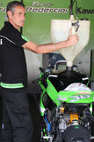 Kawasaki ZX-10R Pedercini Stock Image