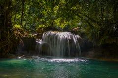 Kawasan瀑布 库存图片