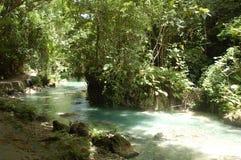 Kawasan river in Cebu, Philippines Royalty Free Stock Images