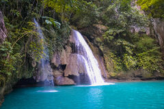 Kawasan waterfall Royalty Free Stock Photo