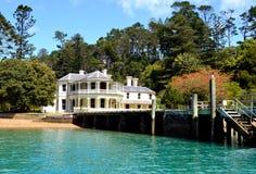 Kawau ö, Nya Zeeland Fotografering för Bildbyråer