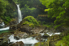Kawazu waterfall trail, Izu Peninsula, Japan Stock Photography