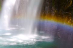 Kawazunanadaru Falls, Japan. Royaltyfri Fotografi