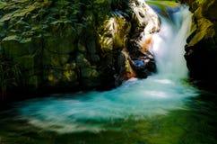 Kawazunanadaru Falls, Japan. Royaltyfria Bilder