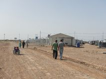 22.05.2017, Kawergosk, Iraq.: Overcrowded Refugee Camp in Iraq with Refugees fleeing from IS or Islamic State