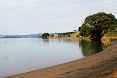 Kawhia Новая Зеландия стоковое изображение