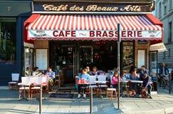 Kawiarni des Beaux sztuki są typowym Paryjskim brasserie, Paryż, Francja Fotografia Stock