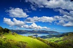 kawiarni lato krajobrazowy nowy Zealand Zdjęcia Royalty Free