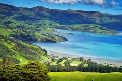 kawiarni lato krajobrazowy nowy Zealand Obrazy Royalty Free