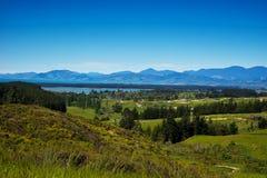 kawiarni lato krajobrazowy nowy Zealand Zdjęcia Stock