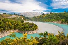 kawiarni lato krajobrazowy nowy Zealand Obraz Royalty Free