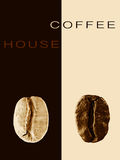 Kawiarni, restauraci lub kawy domowy menu, Zdjęcia Royalty Free