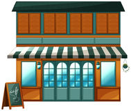Kawiarnia ilustracji