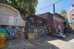 Kawiarnia i restauracja w Belgrade Zdjęcia Royalty Free