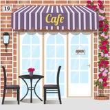 Kawiarnia lub sklep z kawą Zdjęcia Stock