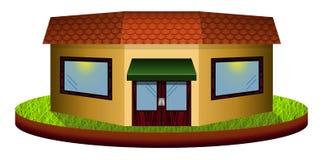 Kawiarnia na trawie Obraz Royalty Free