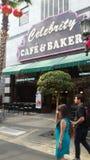 Kawiarnia & piekarz Obrazy Stock