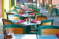 kawiarnia plenerowa Zdjęcie Royalty Free
