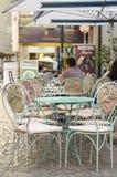 kawiarnia plenerowa Obrazy Royalty Free