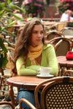 kawiarnia pogodna Zdjęcia Stock