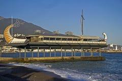 Kawiarnia przy Yalta bulwarem Zdjęcie Stock