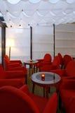kawiarnia pusta Zdjęcia Stock