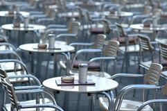 kawiarnia pusta Obrazy Stock