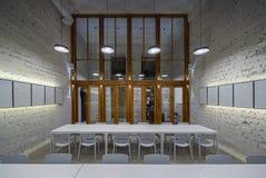 Kawiarnia w loft stylu Zdjęcia Royalty Free